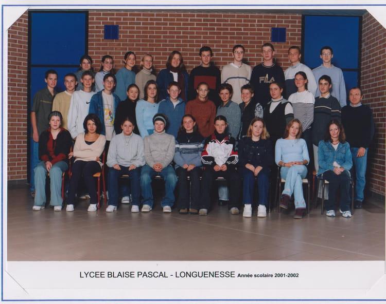 Photo de classe 1sv de 2001 lyc e blaise pascal cit - Art cuisine longuenesse ...