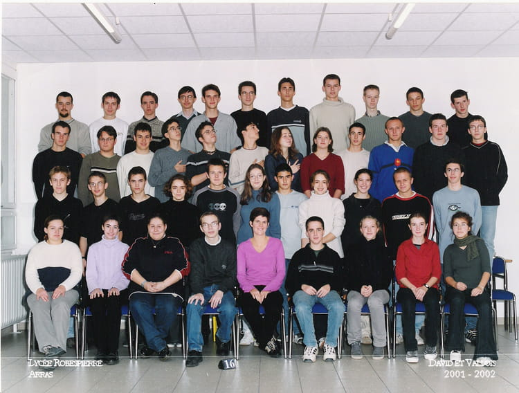 2001 , Maths Sup MPSI année 2001,2002 , Cpge lycée robespierre