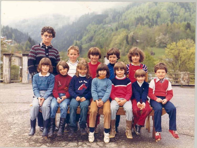 Photo de classe cours pr paratoire de 1984 ecole du - Beaufort sur doron office du tourisme ...