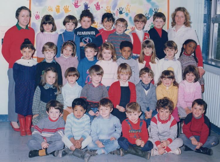 Photo de classe Grande section maternelle de 1985, Ecole Albert Aubel (Sainte Genevieve Des Bois  # Auto Ecole Sainte Genevieve Des Bois