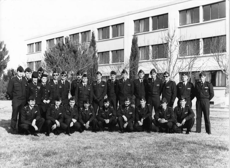 Photo De Classe Base A 233 Rienne 114 1982 De 1982 Base