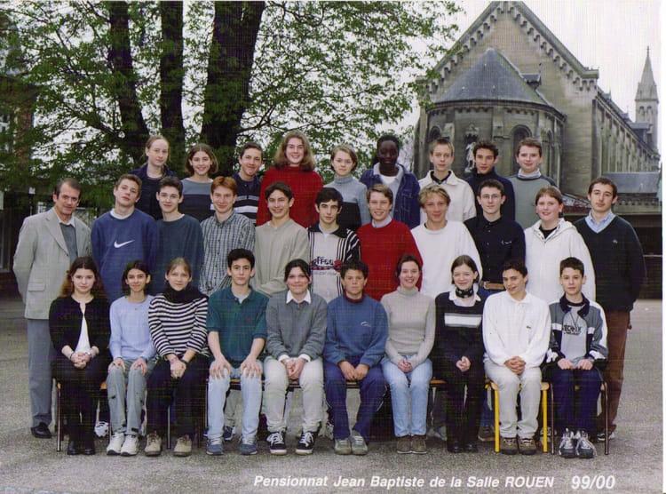 photo de classe 3 232 me f de 2000 coll 232 ge jean baptiste de la salle copains d avant