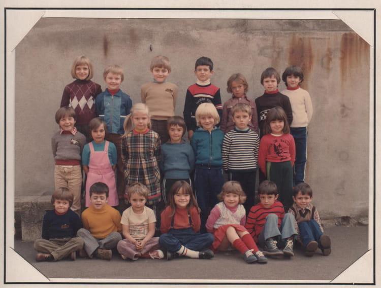 photo de classe cp de 1980 ecole maurice genest copains d 39 avant. Black Bedroom Furniture Sets. Home Design Ideas