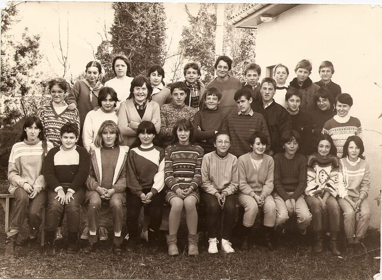 Photo de classe cinquieme 1984 de 1984 ecole institution - Ecole sainte marie aubagne ...