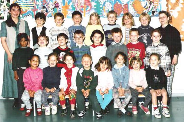Photo de classe Grande Section Maternelle de 1995, ECOLE BOIS GUILLAUME Copains d'avant # Lycée Rey Bois Guillaume