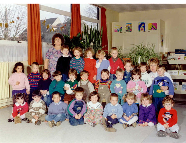 photo de classe petite section maternelle de 1990 ecole louis pasteur vert saint denis. Black Bedroom Furniture Sets. Home Design Ideas