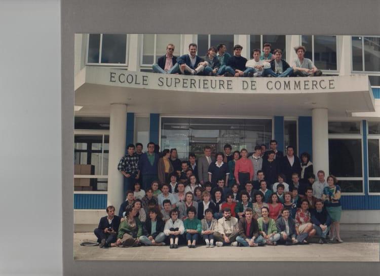 photo de classe sup de co brest 1985 1988 de 1988 ecole sup rieure de commerce de bretagne esc. Black Bedroom Furniture Sets. Home Design Ideas