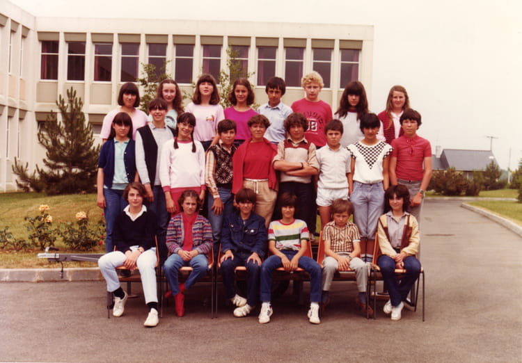 photo de classe 5ed de 1982 coll 232 ge porte d anjou copains d avant