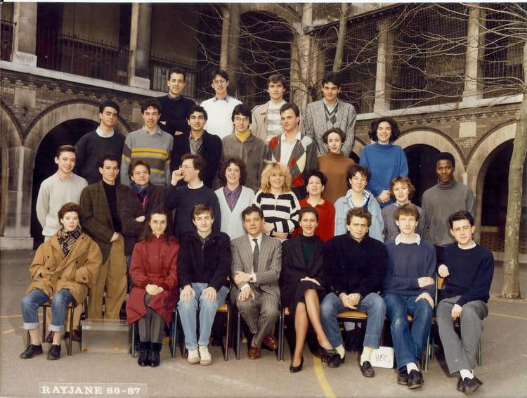 photo de classe prepa hec 1 de 1986 lyc e louis le grand copains d 39 avant. Black Bedroom Furniture Sets. Home Design Ideas