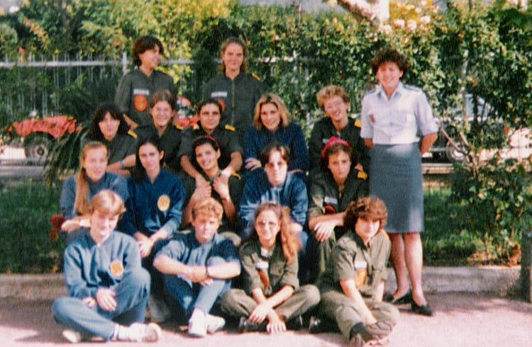 Photo de classe lyc e militaire aix en provence 1986 1987 for Ecole militaire salon de provence