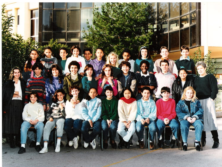Photo de classe 4eb de 1987 college du vieux port for Pronote college jean moulin salon