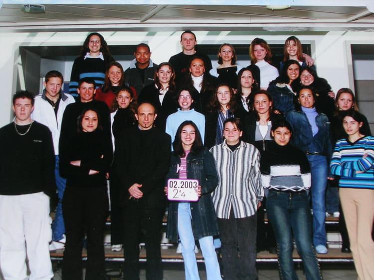 photo de classe 2nde4 de 2002 lyc 233 e portes de l oisans copains d avant