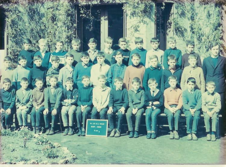 photo de classe 6 232 me 3 de 1965 coll 232 ge jean baptiste de la salle copains d avant