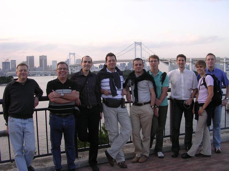 photo de classe tokio avec mca de 2006 renault maubeuge