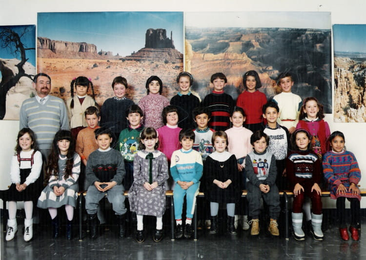 photo de classe ce1 de 1986 ecole le tricot villefranche de rouergue copains d 39 avant. Black Bedroom Furniture Sets. Home Design Ideas