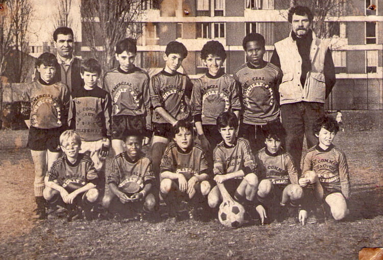 photo de classe pupilles de 1985 sporting football club. Black Bedroom Furniture Sets. Home Design Ideas