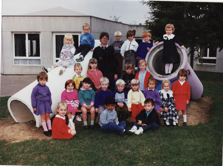 Photo de classe 2eme ann e maternelle de 1989 ecole paul - Art cuisine longuenesse ...