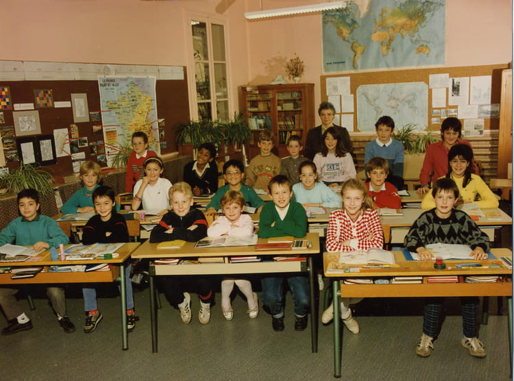 photo de classe cm1 avec cm2 de 1987 ecole fosses montbeliard copains d 39 avant. Black Bedroom Furniture Sets. Home Design Ideas