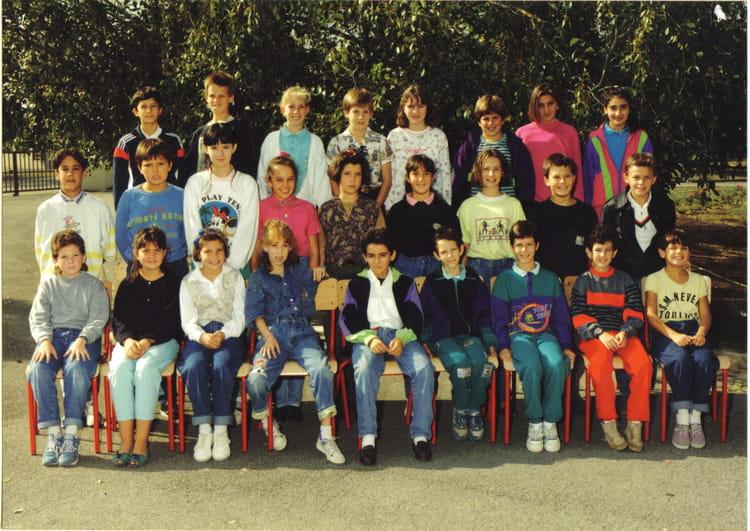 Photo de classe 6ème2 de 1990, Collège Du Bois De La  ~ Ent Bois De La Barthe