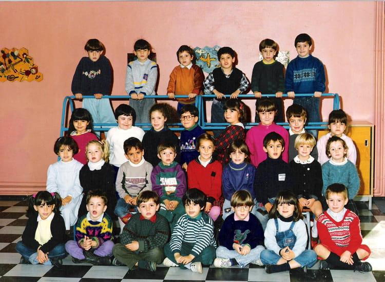 photo de classe 4em annee de maternelle de 1989 ecole sud libourne copains d 39 avant. Black Bedroom Furniture Sets. Home Design Ideas