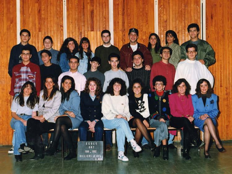 photo de classe 2 me acc de 1991 ort villiers le bel copains d 39 avant. Black Bedroom Furniture Sets. Home Design Ideas