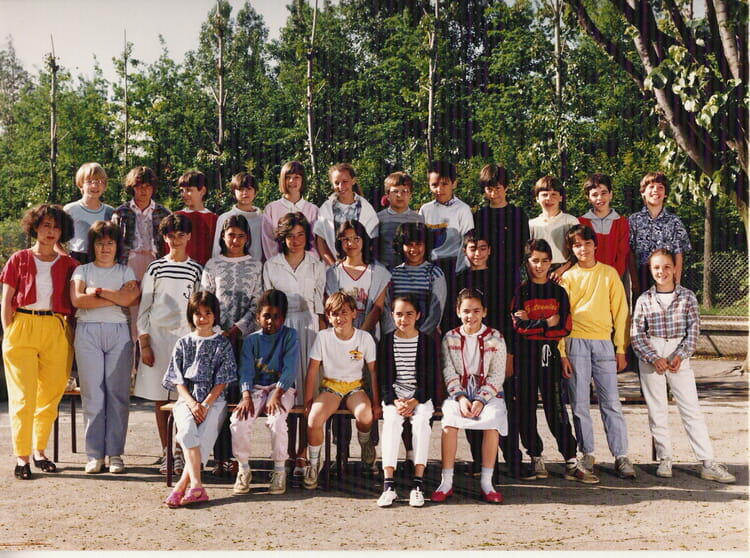 photo de classe cm2 ecole malherbe grenoble de 1986 ecole malherbe copains d 39 avant. Black Bedroom Furniture Sets. Home Design Ideas