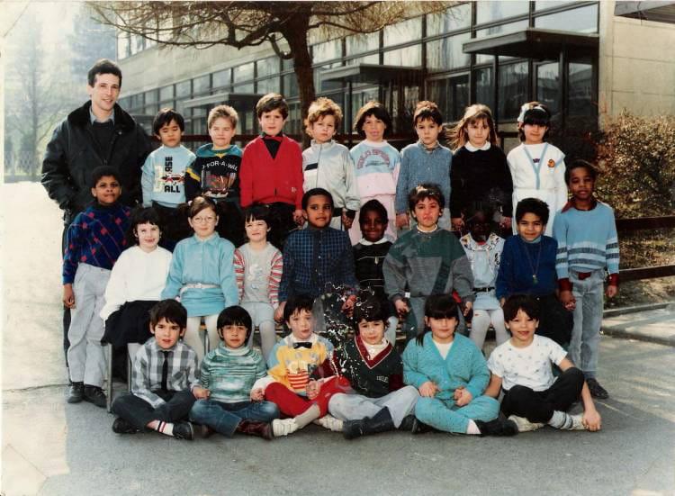 Photo de classe Classe de cp à fontenay sous bois de 1986  ~ Cp Fontenay Sous Bois