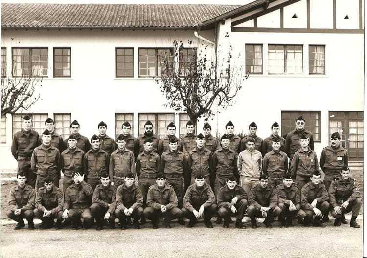 photo de classe les classes ba 118 mont de marsan cont 89 12 de 1989 base a 233 rienne copains d