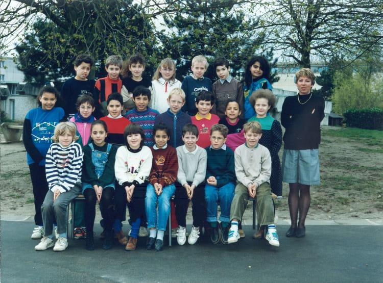 Photo de classe ce2 de 1992 ecole les rossignots nangis for Piscine de nangis