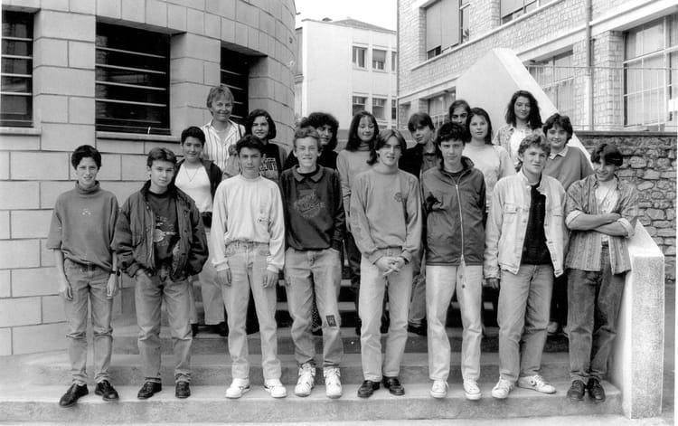 Photo de classe 3 mec 1989 1990 de 1989 coll ge du jardin des plantes copains d 39 avant - College du jardin des plantes ...