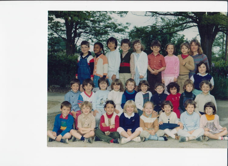 photo de classe grande section de maternelle de 1982 ecole charles guynemer meaux copains d. Black Bedroom Furniture Sets. Home Design Ideas
