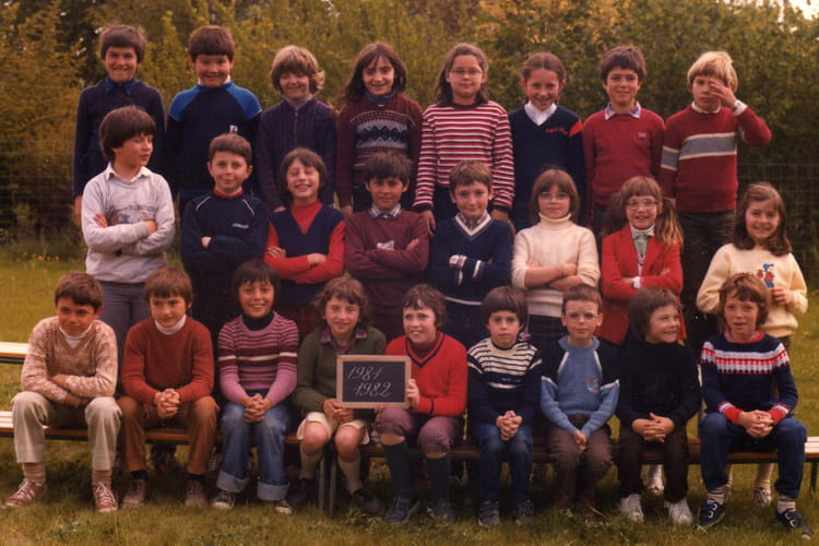 Photo de classe ce2 cosne d 39 allier 03430 de 1981 ecole for Garage cosne d allier