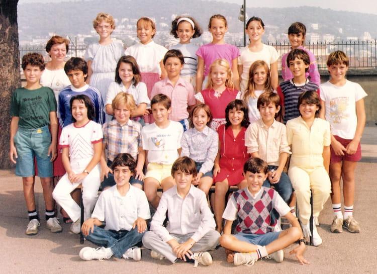 photo de classe cm2 ecole du port de 1984 ecole le port copains d avant