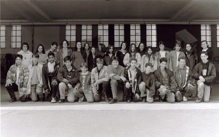 Photo de classe 3 me a de 1993 coll ge du jardin des plantes copains d 39 avant - College du jardin des plantes ...
