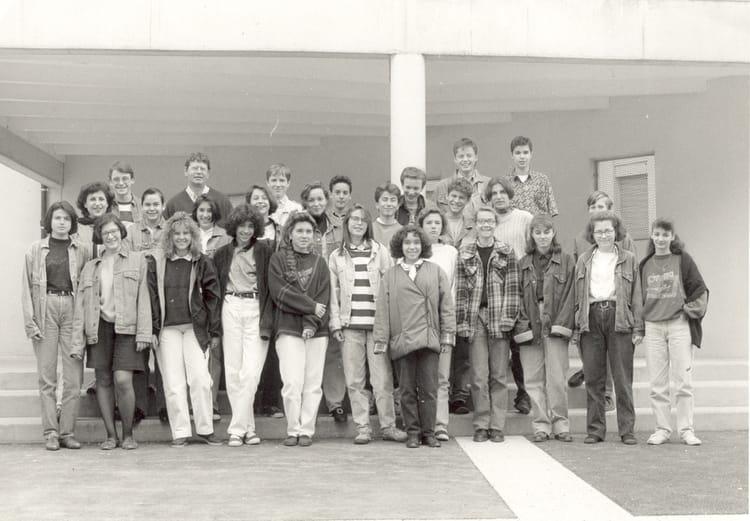 Photo de classe 4 me a de 1991 coll ge du jardin des plantes copains d 39 avant - College du jardin des plantes ...