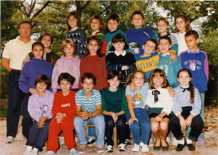 photo de classe cm2 de 1989 ecole camp major copains d 39 avant. Black Bedroom Furniture Sets. Home Design Ideas