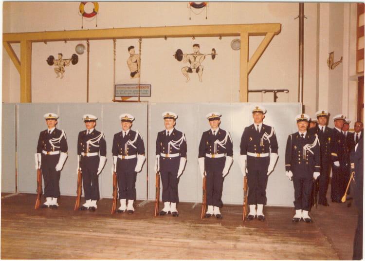 photo de classe gendarmerie maritime toulon de 1979