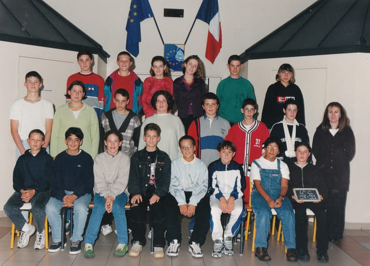 photo de classe 4 me 1998 1999 de 1998 coll ge jean