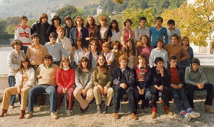 Photo de classe 1ère G3 de 1982, Itecboisfleury  Copains  ~ Itec Bois Fleury