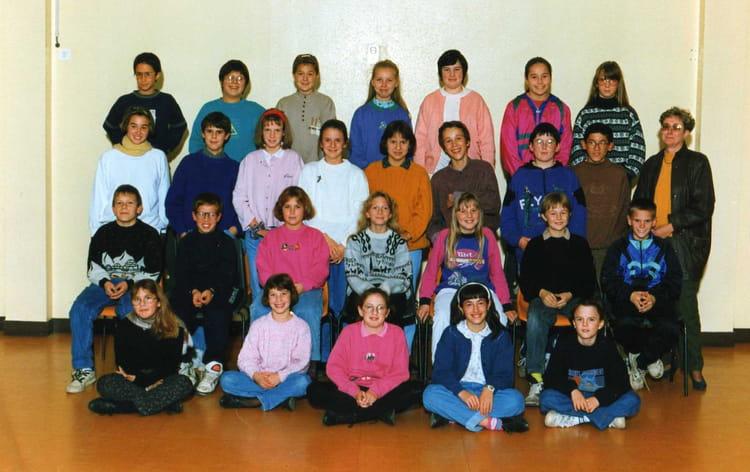 photo de classe 6 me 1 de 1993 coll ge l 39 oiseau blanc copains d 39 avant. Black Bedroom Furniture Sets. Home Design Ideas