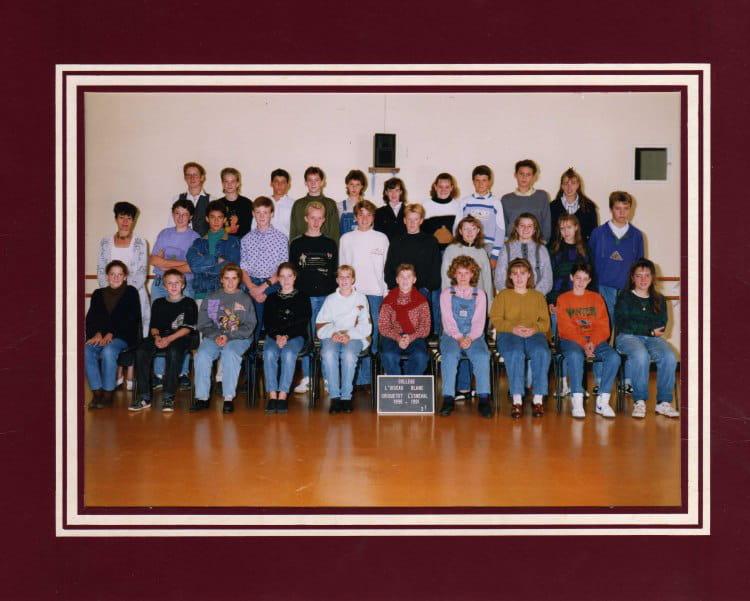 photo de classe 3 1 de 1990 coll ge l 39 oiseau blanc copains d 39 avant. Black Bedroom Furniture Sets. Home Design Ideas