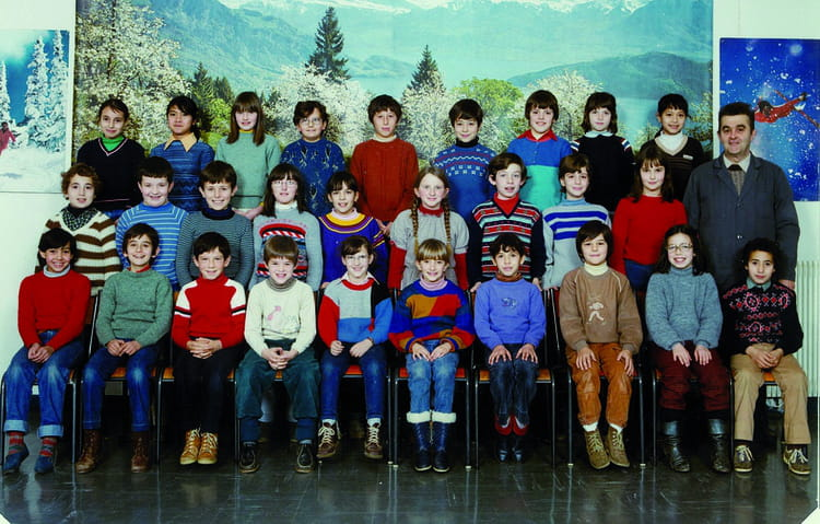 photo de classe cm1 de 1983 ecole le tricot villefranche de rouergue copains d 39 avant. Black Bedroom Furniture Sets. Home Design Ideas