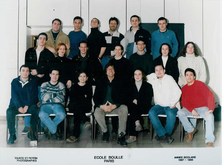 photo de classe bts agencement de 1997 ecole boulle copains d 39 avant. Black Bedroom Furniture Sets. Home Design Ideas
