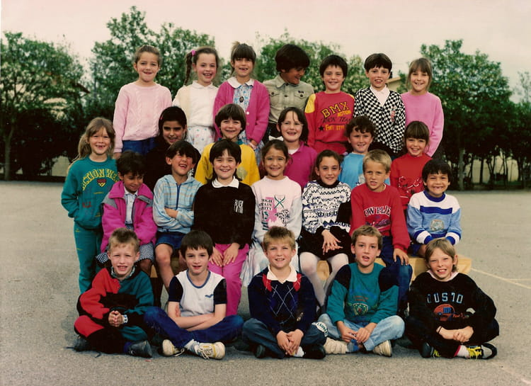 photo de classe ce1 mme palau de 1988 ecole primaire labarthe sur leze copains d 39 avant. Black Bedroom Furniture Sets. Home Design Ideas