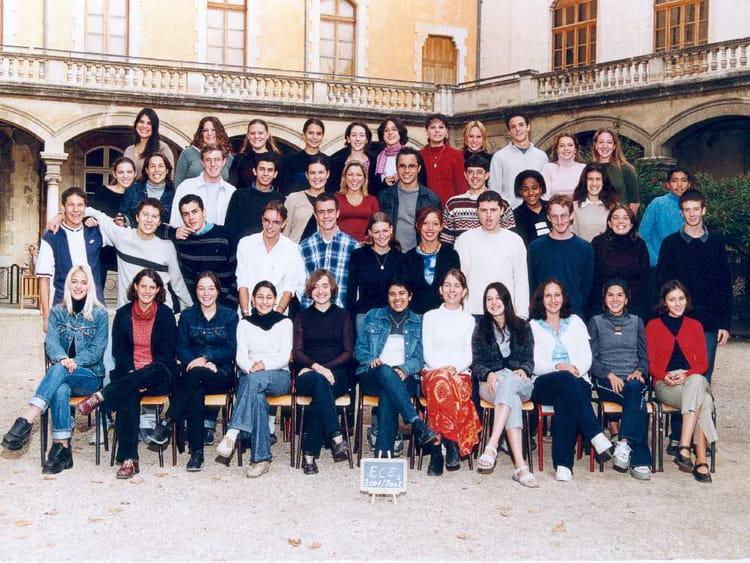 Photo de classe pr pa ece 1 de 2001 lyc e alphonse daudet for Lycee alphonse daudet