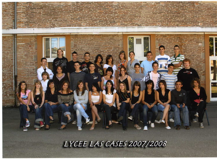 photo de classe 2nd6 de 2007 lyc e las cases copains d 39 avant. Black Bedroom Furniture Sets. Home Design Ideas