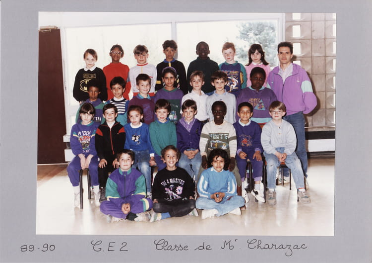 photo de classe ce2 de 1989 ecole compayre meaux copains d 39 avant. Black Bedroom Furniture Sets. Home Design Ideas