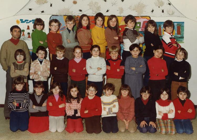 Photo de classe Classe de Monsieur Bureau de 1979 ECOLE GILBERT