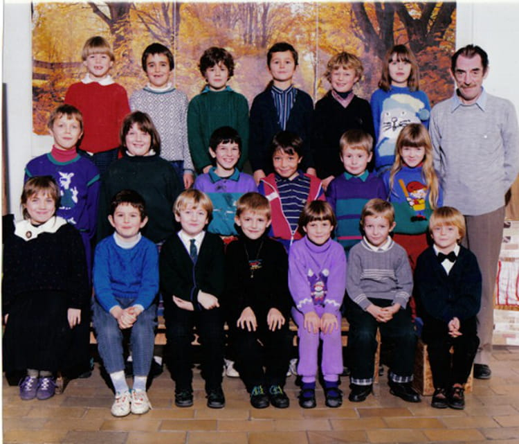 photo de classe ce1 de 1989 ecole saint amand bailleul. Black Bedroom Furniture Sets. Home Design Ideas