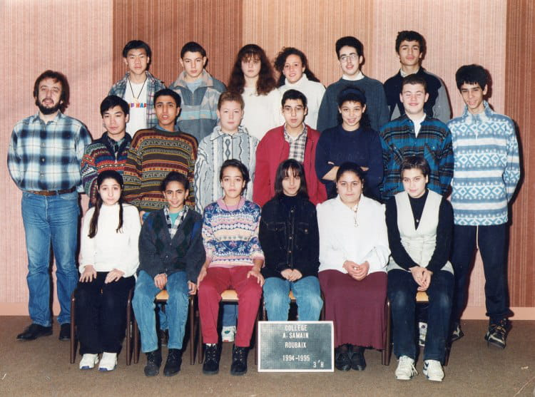 Photo de classe 3eh de 1994 coll ge albert samain for Albert samain la cuisine
